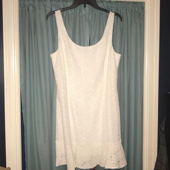 Lilly Pulitzer Dresses & Skirts - NWT Lilly Pulitzer Sevilla Dress Sz L White Lace